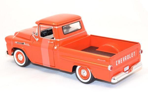 chevrolet apache fleetline 1958 au 1 24 miniature motormax. Black Bedroom Furniture Sets. Home Design Ideas