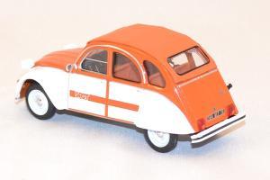 citroen 2cv spot 1976 orange 1 43 miniature sunstar vitesse. Black Bedroom Furniture Sets. Home Design Ideas