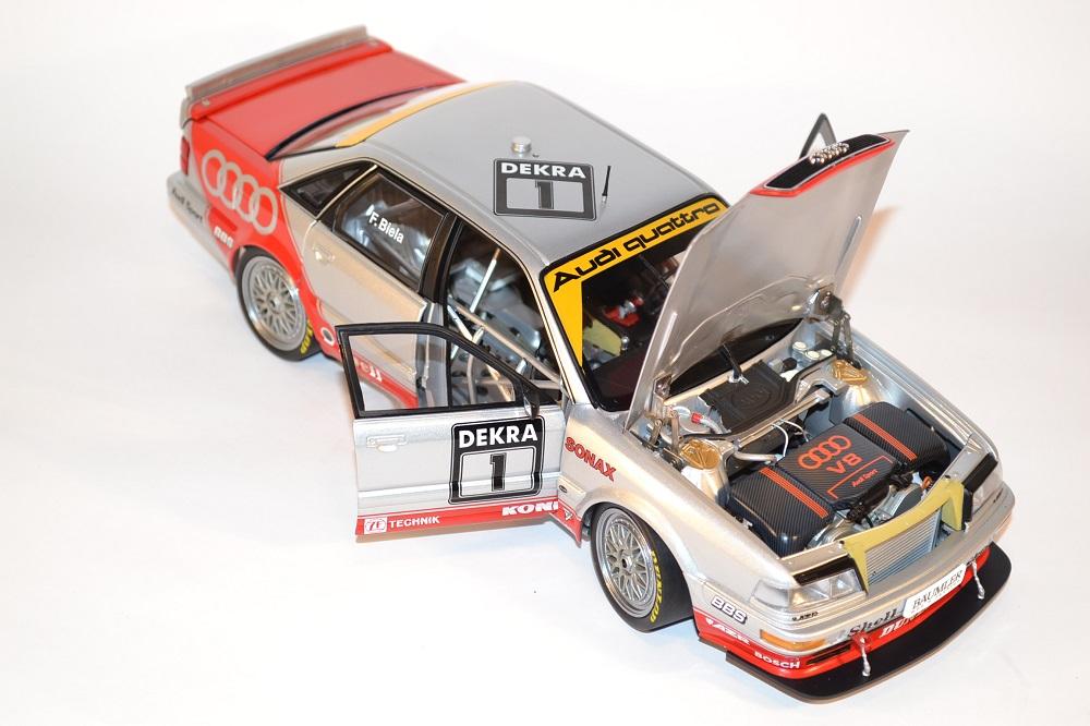 Audi Quattro V8 MINICHAMPS team AZR DTM 1992  1-18