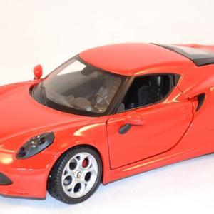Alfa romeo 4c welly 24048 au 1 24 miniature auto autominiature01 com 1