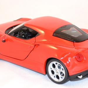 Alfa romeo 4c welly 24048 au 1 24 miniature auto autominiature01 com 2