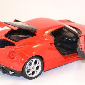 Alfa romeo 4c welly 24048 au 1 24 miniature auto autominiature01 com 3
