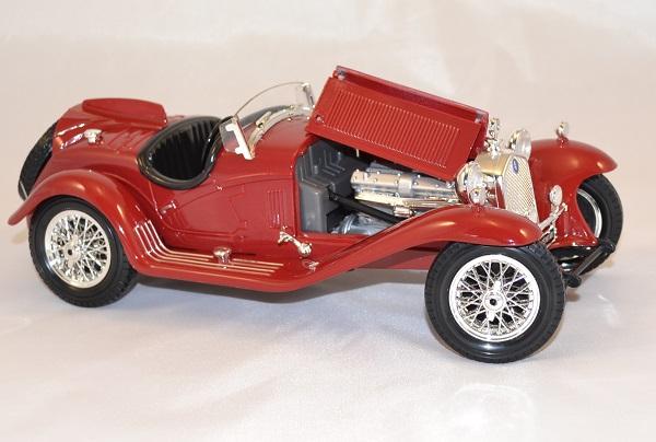 Alfa romeo 8c 2300 spider 1932 1 18 bburago www autominiature01 com 2