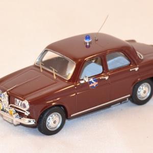 Alfa Romeo Giulietta 1964 Police autoroute Italie Rio 1-43