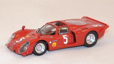 Alfa Roméo 33.2 Spyder 1969 #5 G. Larousse Best 1-43