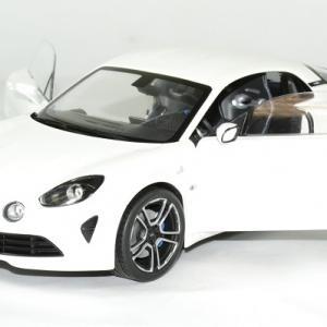 Alpine a110 2017 blanche 1 18 solido autominiature01 6