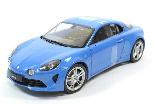 Alpine a110 pure 2018 bleue 1 18 solido autominiature01 1801604 1