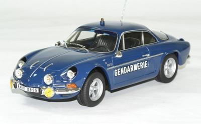 Alpine Renault A110 1600S gendarmerie BRI 1971