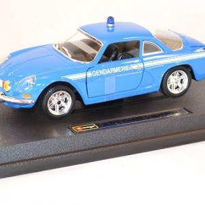 Alpine renault a110 1600s gendarmerie b r i bburago 22035 1 24 miniature auto autominiature01 comu 1