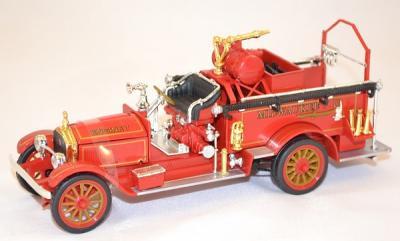 American La france Engin pompe Pompier 1921