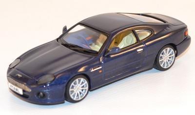 Aston martin DB7 vantage bleu1-43 Sunstar Vitesse 1/43