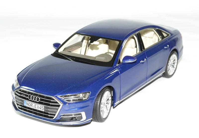 Audi a8 l 2017 bleu norev 1 18 autominiature01 1