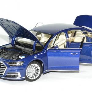 Audi a8 l 2017 bleu norev 1 18 autominiature01 4