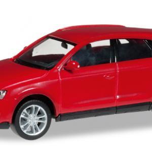 Audi Q3 rouge brillant