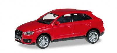 Audi Q3 rouge brillant