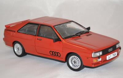 Audi quattro coupé 1981 rouge 1/18 sunstar