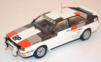 Audi quattro  Rally test car 1981 M. Mouton Minichamps 1/43