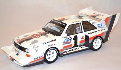 Audi quattro s1 sport Pikes peak 1987 #1 Rohrl ottomobile 1/18