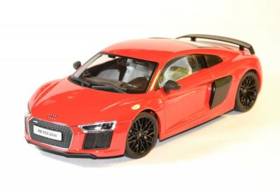 Audi R8 V10 plus version exclusive rouge foncé