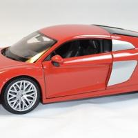 Audi r8 v10 rouge welly 1 24 autominiature01 1