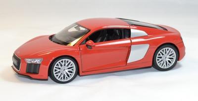 Audi R8 V10 2016 rouge