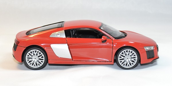 Audi r8 v10 rouge welly 1 24 autominiature01 4