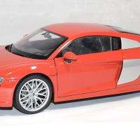 Audi r8 welly v10 2016 rouge 1 18 autominiature01 1