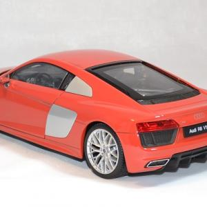 Audi r8 welly v10 2016 rouge 1 18 autominiature01 2