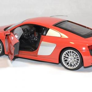 Audi r8 welly v10 2016 rouge 1 18 autominiature01 3