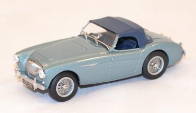 Austin Healey 100 BN1 bleu Oxford 1/43 OXFORDDAH1001