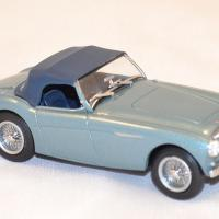 Austin healey 100 bn1 bleue oxford ah1001 1 43 autominiature01 com 2