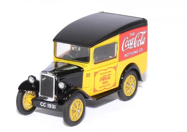 Austin seven rn coca cola 1 76 oxford autominiature01 1
