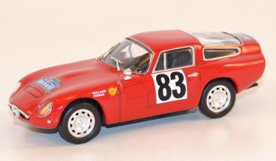 Alfa Roméo Tz coupe des alpes 1964 Rolland ixo 1/43