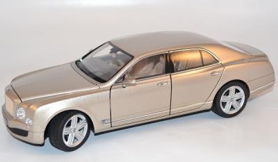 Bentley Mulsanne miniature au 1/18 marque Rastar