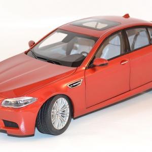 Bmw M5 (F10M) 2012 Rouge miniature au 1/18 Paragon