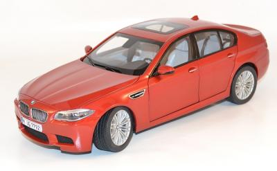 Bmw M5 (F10M) 2012 Rouge miniature au 1/18 Paragon