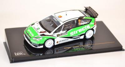 Citroen C4 WRC #1 rallye wallonie 2011 ixo 1/43