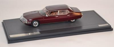 Citroen SM Opera By Chapron marron 1971 Matrix 1/43