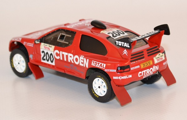 Rally Motor Credit >> Citroen Zx Paris-Dakar 1995 #200 Lartigue miniature Ixo 1/43
