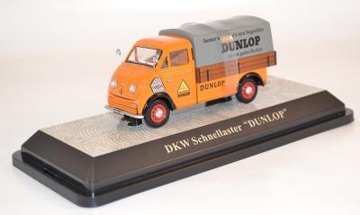 Dkw schnellaster Plateau DUNLOP 1/43 Premium x