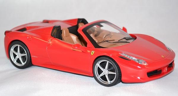 Autominiature01 com ferrari 458 spyder rouge 1 24 hotwheels 2