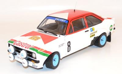 Ford Escort mk2 rs 1800 Suede 1978 Vatanen 1/18 Sunstar