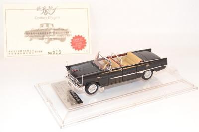 Hongqi ca72 limousine ouverte TJ noire