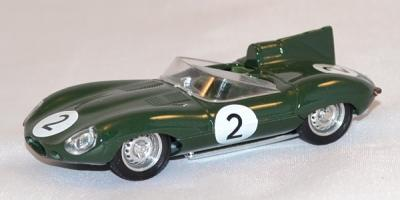 Jaguar Type D Le Mans 1956 #2 Paul Frere