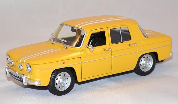 Miniature Welly 124 R8 Renault 1964 Jaune Gordini LMUzpGVqS