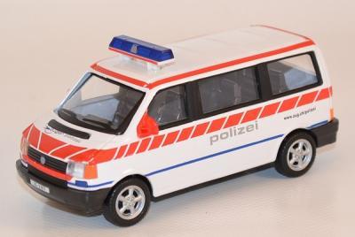 Volkswagen van LT Police Suisse Zurich 1/43 Oliex