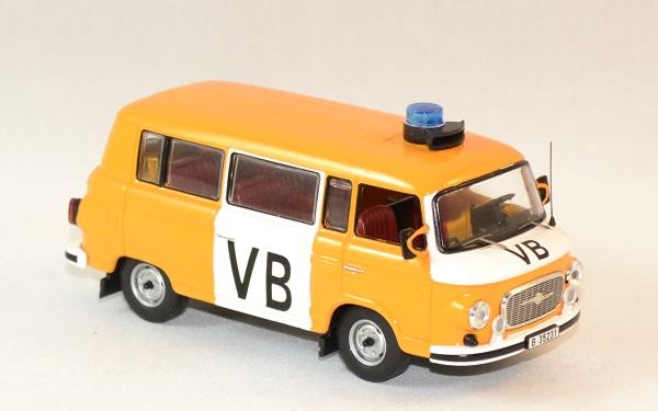 Barkas b1000 vb police tcheque 1975 ixo ist 1 43 autominiature01 3