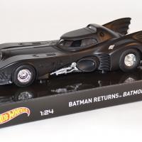 Batmobile 1 24 batman returns hotwheels elite autominiature01 com hwtly51 1
