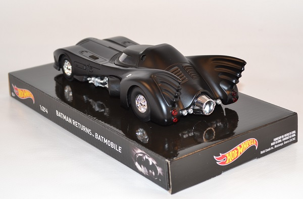 Batmobile 1 24 batman returns hotwheels elite autominiature01 com hwtly51 2
