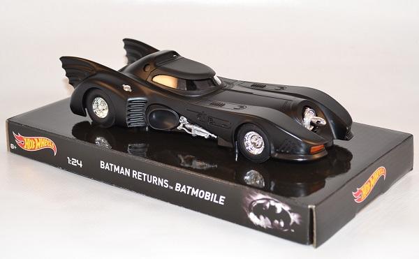 Batmobile 1 24 batman returns hotwheels elite autominiature01 com hwtly51 3